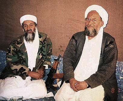 אל קאעידה השתלט על סיני? אוסמה בן לאדן וסגנו איימן א-זווהארי (צילום: רויטרס) (צילום: רויטרס)