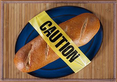 """""""ידעתי שאהיה חייבת לוותר על הלחם"""" (צילום: shutterstock) (צילום: shutterstock)"""