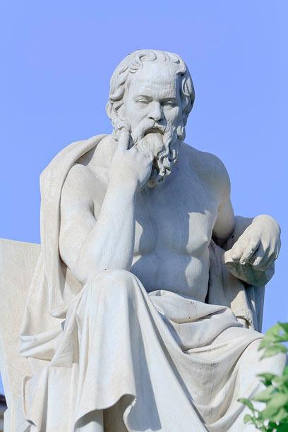 איך נדע שסוקרטס צדק? (צילום: shutterstock) (צילום: shutterstock)