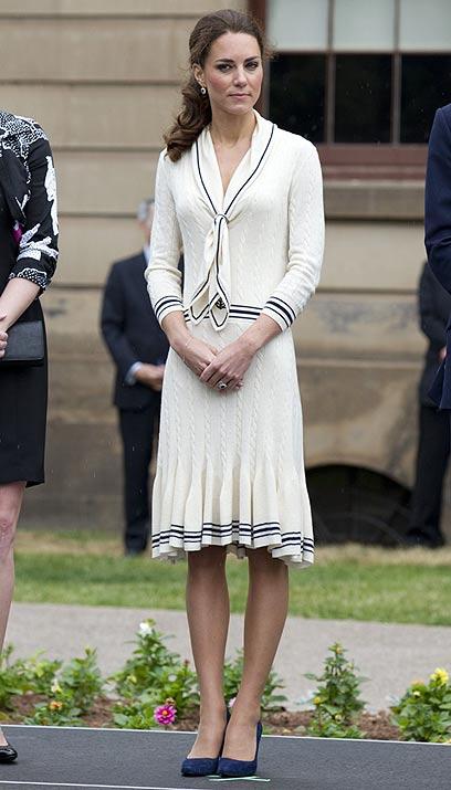 הבחורה הכי צנועה בבית הכנסת. הדוכסית מקיימברידג' (צילום: MCT) (צילום: MCT)