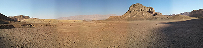 עמק ססגון. אחד מאזורי המדבר המיוחדים בישראל (צילום: דב גרינבלט, החברה להגנת הטבע)