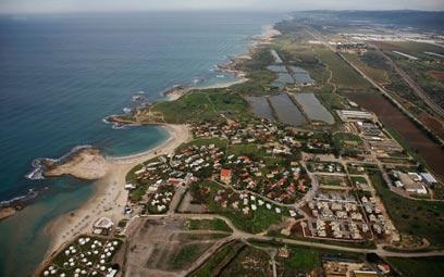 אזור חוף דור  (צילום: באדיבות Lowshot) (צילום: באדיבות Lowshot)