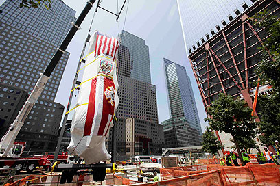 A decade later. NYC monument for victims (Photo: Reuters)