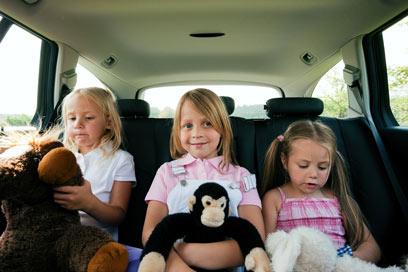 ילדים שאינם חגורים נמצאים בסיכון כפול לתמותה (צילום: shutterstock) (צילום: shutterstock)