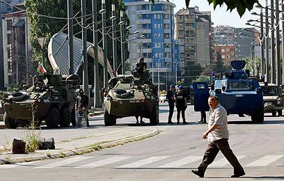 קוסובו. מקור לעימותים בין אלבנים לסרבים (צילום: AP) (צילום: AP)