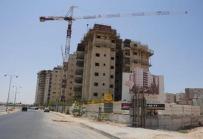 פרויקט בבנייה. היטלי ההשבחה יתייקרו (צילום: הרצל יוסף) (צילום: הרצל יוסף)
