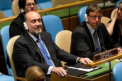 """רון פרושאור, שגריר ישראל באו""""ם (צילום: שחר עזרן) (צילום: שחר עזרן)"""