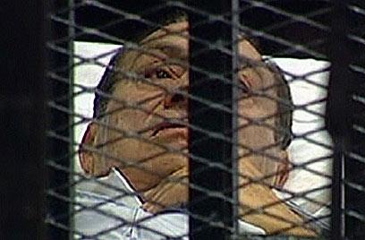 אובמה נטש את בן בריתו, חוסני מובארק  (צילום: AFP PHOTO / EGYPTIAN TV) (צילום: AFP PHOTO / EGYPTIAN TV)