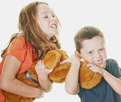 80% מהריבים במשפחה הם על אותו נושא (צילום: sutterstock)