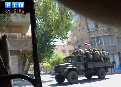 חיילים סורים באל-ג'זרין (צילום: EPA) (צילום: EPA)