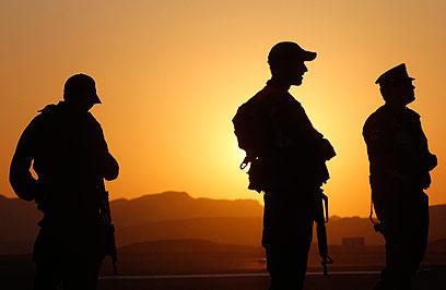 IDF soldiers on Israel-Egypt border (Photo: Reuters)