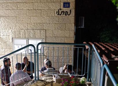 """בית משפחתו של סמ""""ר משה נפתלי (צילום: נועם מושקוביץ) (צילום: נועם מושקוביץ)"""