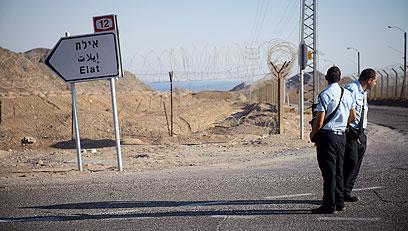 הגדר הרעה. גבול סיני  (צילום: בן קלמר) (צילום: בן קלמר)