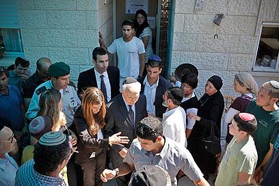 הנשיא בניחום האבלים, היום (צילום: נועם מושקוביץ) (צילום: נועם מושקוביץ)