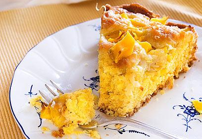 עוגת תפוז מנגו (צילום: גיא בלומנשטיין)