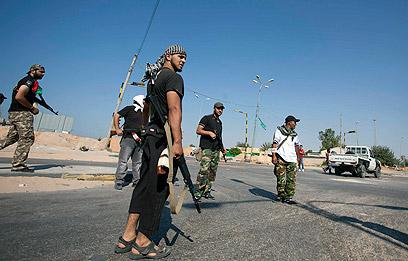 Rebels in Libya (Photo: AP)