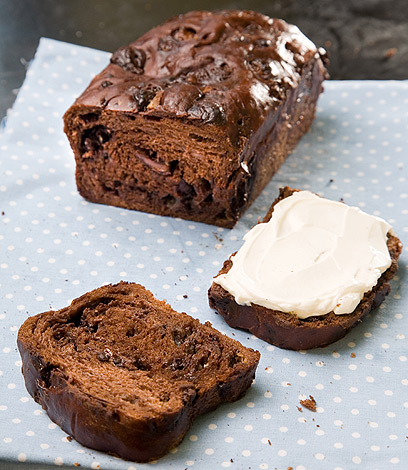 לחם שוקולד עם ממרח גבינה (צילום: דניאל לילה ) (צילום: דניאל לילה )