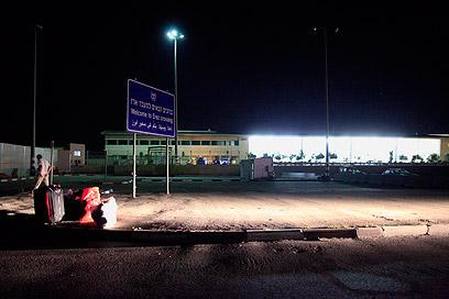 """מעבר ארז אחרי הפגיעה, משגרי הפצמ""""ר חוסלו (צילום: צפריר אביוב) (צילום: צפריר אביוב)"""