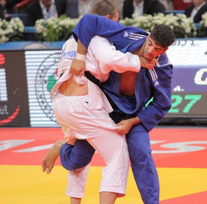 ואצל אסף זוהר התחרות הסתיימה כבר בקרב הראשון (צילום: אורן אהרוני) (צילום: אורן אהרוני)