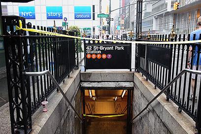 תחנה במנהטן. מרחק של 30 מטרים בלבד מוריד את ערך הדירות משמעותית (צילום: ישראל עצמון)