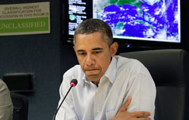 Is Obama in trouble? (Photo: AP)