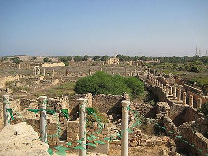 ערי נמל רומיות: לפטיס מגנה  (צילום: SashaCoachman cc  )