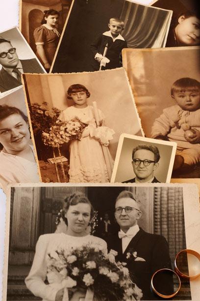 להציץ באלבום המשפחתי ולהתגעגע לזמנים שלא הכרנו (צילום: shutterstock) (צילום: shutterstock)