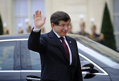 Ahmet Davutoglu. Heading to The Hague? (Photo: AFP)
