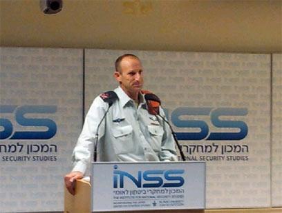 IDF Home Front Command Chief, Major General Eyal Eisenberg (Photo: Yoav Zitun)