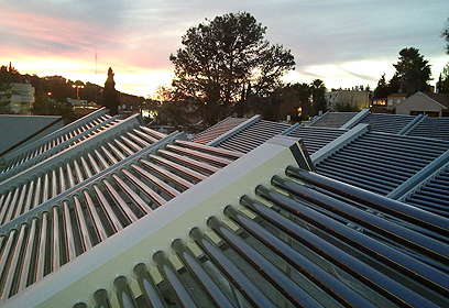 משאבות ואקום סולאריות בישיבת ההסדר מעלות (צילום: ESCO  ישראל)