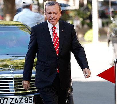 Turkish PM Erdogan. Fanning the flames (Photo: Reuters)