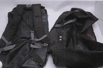 תיק שבו הניחו אנשי חמאס מטען חבלה ()