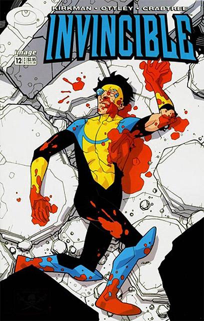 ה- Invincible. גיבור עבור דור שאיבד את תמימותו   (עטיפת הקומיקס) (עטיפת הקומיקס)