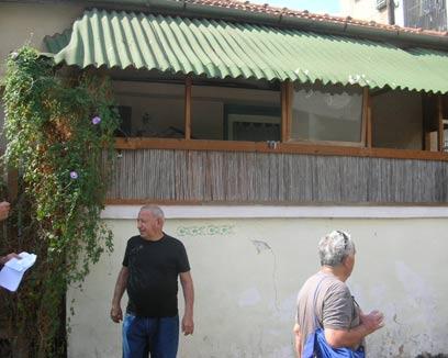 """מיכאל שכטמן, רחוב ארלוזרוב: """"אנחנו היינו הארחי-פרחי"""" (צילום: תני גולדשטיין) (צילום: תני גולדשטיין)"""