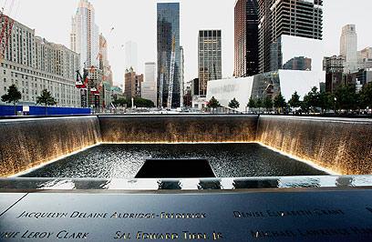 פעם עמדו פה שני מגדלים. אתר גראונד זירו בניו-יורק (צילום: AFP) (צילום: AFP)