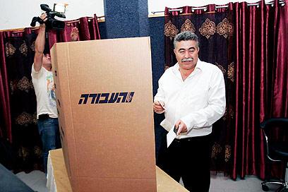"""פרץ בקלפי. """"בית תוסס, מזמין ודמוקרטי"""" (צילום: אליעד לוי) (צילום: אליעד לוי)"""