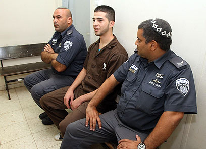 Sentenced to 130 years in prison. Awad in court (Photo: Hagai Aharon)