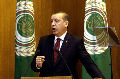 Tough talk from Erdogan (Archive photo: EPA)