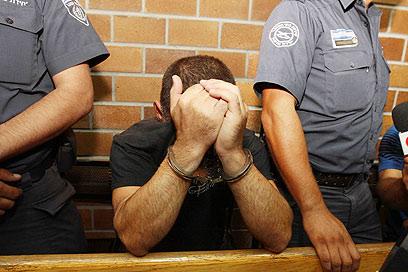 מיכאלוב בהארכת המעצר. התקשר פעמיים (צילום: עידו ארז) (צילום: עידו ארז)