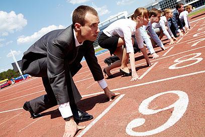 המירוץ אחר הכסף הגדול (צילום: shutterstock) (צילום: shutterstock)