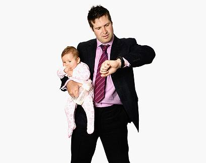 בראש 9% מהמשפחות החד-הוריות עומד גבר (צילום: shutterstock) (צילום: shutterstock)