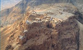 האתר התיירות הפופולרי בארץ. מצדה (צילום: באדיבות רשות הטבע והגנים )
