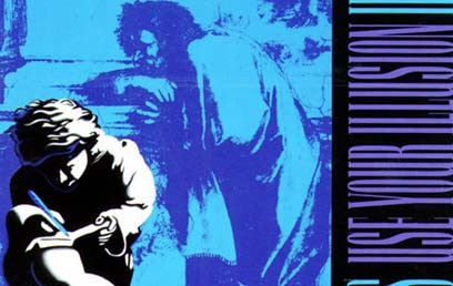 """עטיפת Use Your Illusion II. הגיע למקום הראשון בארה""""ב ובריטניה (צילום: עטיפת האלבום) (צילום: עטיפת האלבום)"""