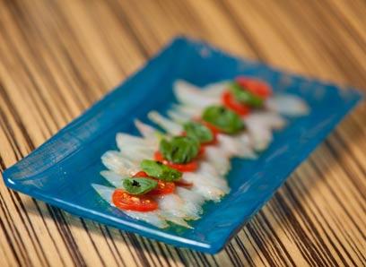 טוויסט חריף. טרטידו דג לבן (צילום: תום להט) (צילום: תום להט)