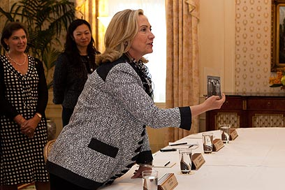 Hillary Clinton in New York (Photo: AP)