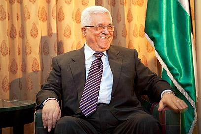 Mahmoud Abbas in New York (Photo: AP)