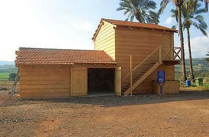 פעם היתה כאן שממה. הצריף באום ג'וני (צילומים: דודו דיין) (צילום: דודו דיין) (צילום: דודו דיין)