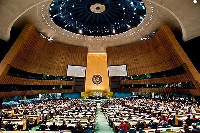 """עצרת האו""""ם. """"דינמיקה בעייתית מבחינת ישראל"""" (צילום: ישראל עצמון) (צילום: ישראל עצמון)"""