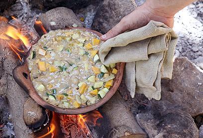 סינייה דבש צמחונית (צילום: אסף רונן)