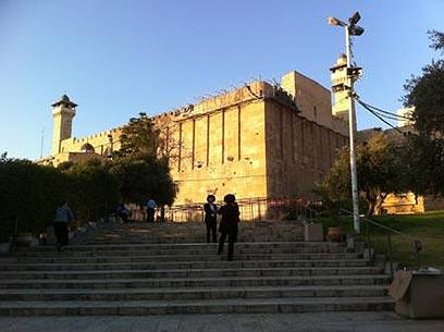 Cave of the Patriarchs (Photo: Yuval Neeman)